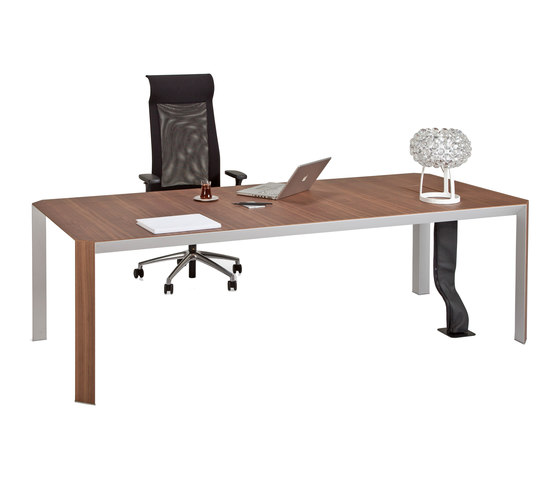 Quo Vadis Executive Desk System by Koleksiyon Furniture | Individual desks