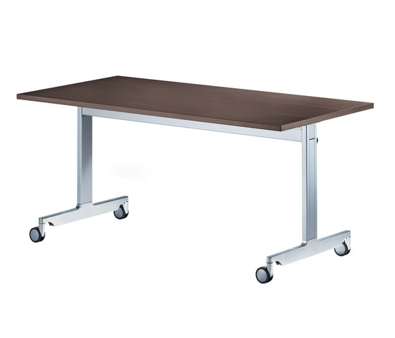 n_table with t-leg base by Wiesner-Hager | Modular conference table elements