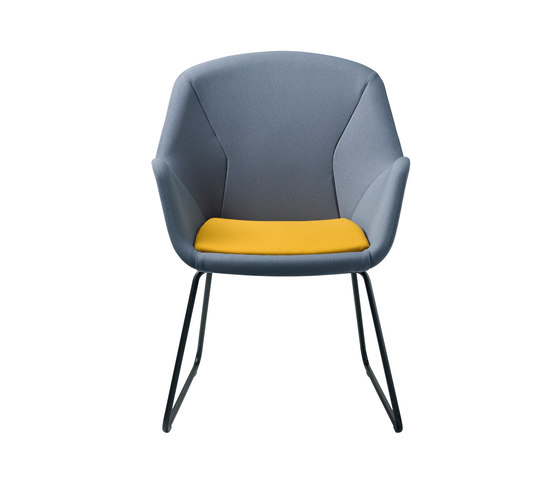 pulse conference by Wiesner-Hager | Visitors chairs / Side chairs