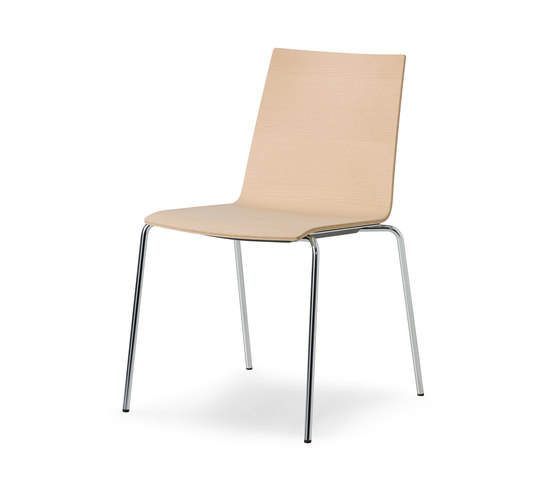 update_b Stacking chair de Wiesner-Hager | Sillas multiusos