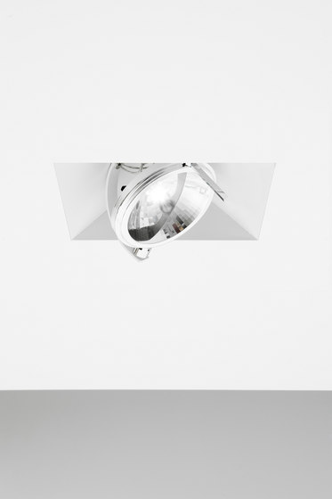 K-hole 1 total recessed trimless di Omikron Design | Lampade soffitto incasso