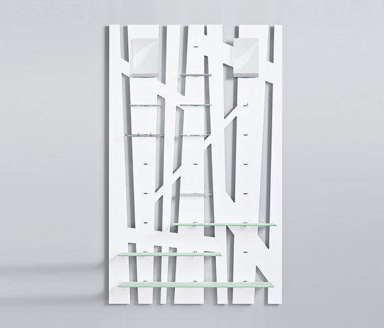 Mono R 4 by Shopfitting systems by Vitra | Single point support systems