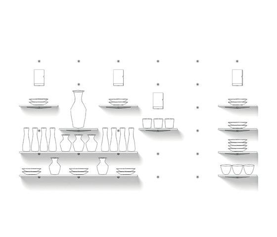 Mono 25 I 25 Q by Shopfitting systems by Vitra |