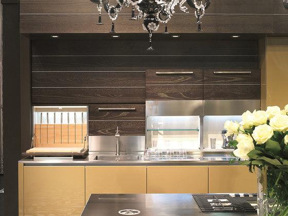 Küchen design Arthesi hidra holz kochinsel vorratsschrank