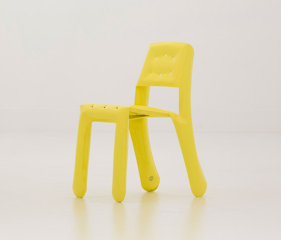 Chippensteel 0.5 | yellow by Zieta | Visitors chairs / Side chairs