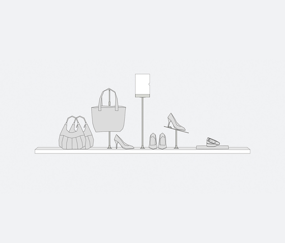 Area Viva 13 de Shopfitting systems by Vitra | Stands d'exposition