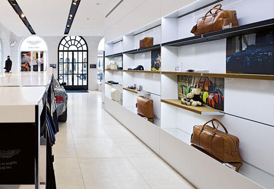 Invisible 6 P/L de Shopfitting systems by Vitra   Sistemas horizontales
