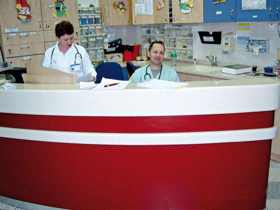 STARON® Reception counter by Staron | Reception desks