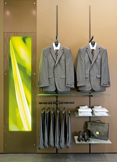 Beam by Shopfitting systems by Vitra | Vertical support systems