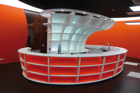 STARON® Sales counter di Staron | Sistemi architettonici