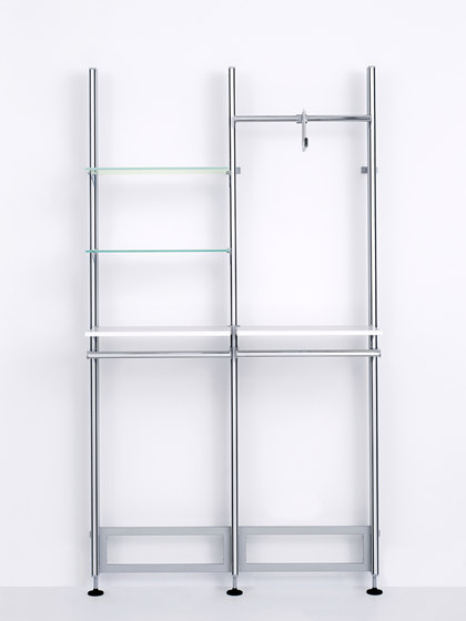 Xero Struc Twin by Shopfitting systems by Vitra   Vertical support systems