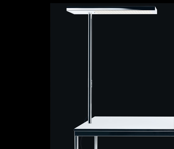 office air LED for table, single-sided de Nimbus | Luminaires de table acier