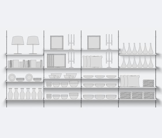 Stabilo de Shopfitting systems by Vitra | Sistemas verticales