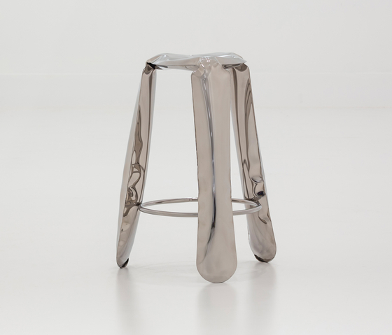 Plopp Stool | Bar | raw-lacquered de Zieta | Taburetes de bar