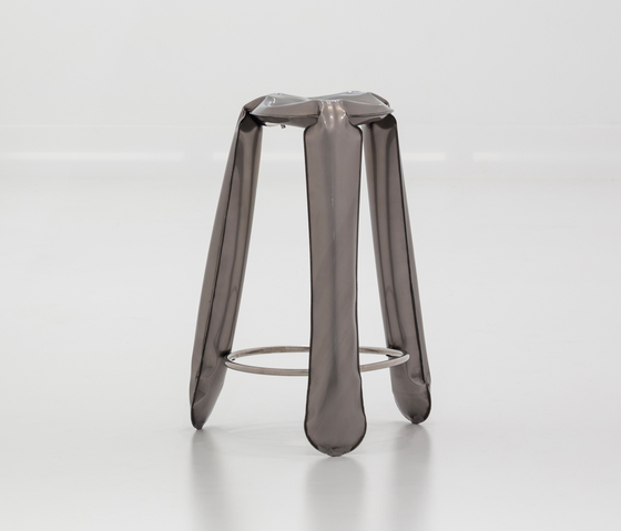 Plopp Stool | Bar | raw-lacquered by Zieta | Bar stools