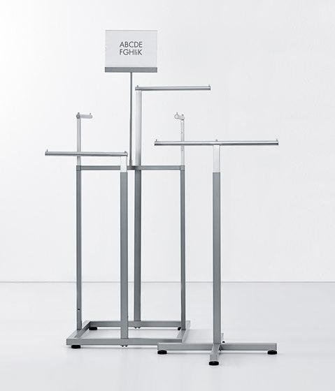 Icons flat de Shopfitting systems by Vitra | Portants de vêtements