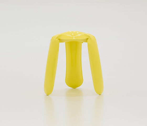 Plopp Stool | Mini | yellow de Zieta | Tabourets