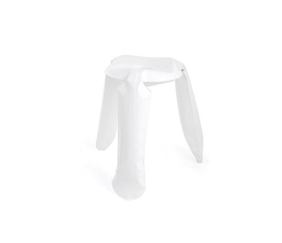 Plopp Stool | Standard Alu | white by Zieta | Stools