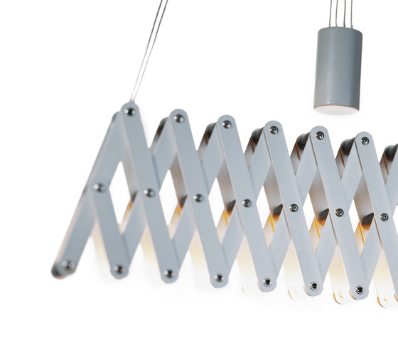 fleXXXibile medium | aluminium by Lucelab | Pendant lights in aluminium