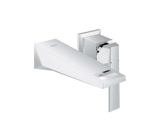 Allure Brilliant Two-hole basin mixer by GROHE | Wash-basin taps