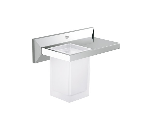 Allure Brilliant Shelf with tumbler by GROHE | Shelves