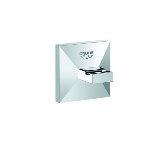 Allure Brilliant Robe hook by GROHE | Towel rails