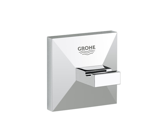 Allure Brilliant Robe hook by GROHE | Towel hooks