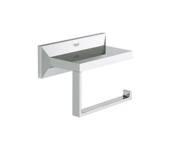 Allure Brilliant Toilet paper holder by GROHE | Paper roll holders