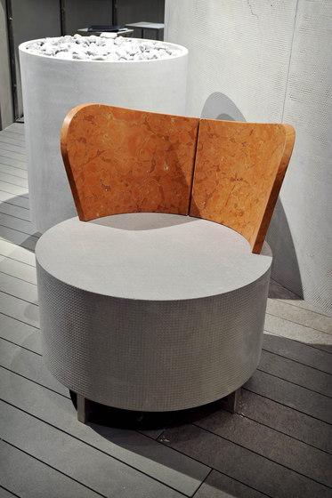 Glypho by Il Casone | Garden armchairs