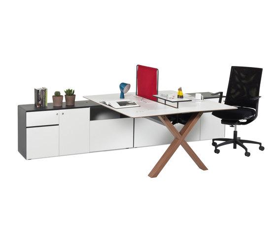 Partita Operational Desk System by Koleksiyon Furniture | Desking systems