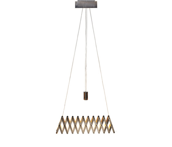 fleXXXibile standard | nickel by Lucelab | Pendant lights in metal