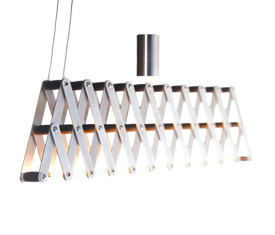 fleXXXibile medium | nickel by Lucelab | Pendant lights in metal