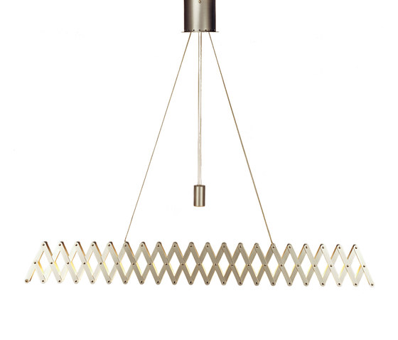 fleXXXibile xxl | nickel by Lucelab | Pendant lights in metal