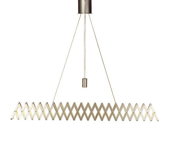 fleXXXibile xxl | nickel by Lucelab | Pendant lights in metal