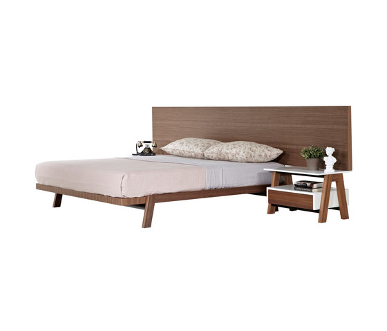 Partita Bed by Koleksiyon Furniture | Double beds