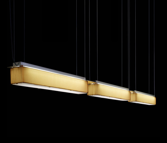 Pleat & Satin Modular System Pendant by Luz Difusión | General lighting