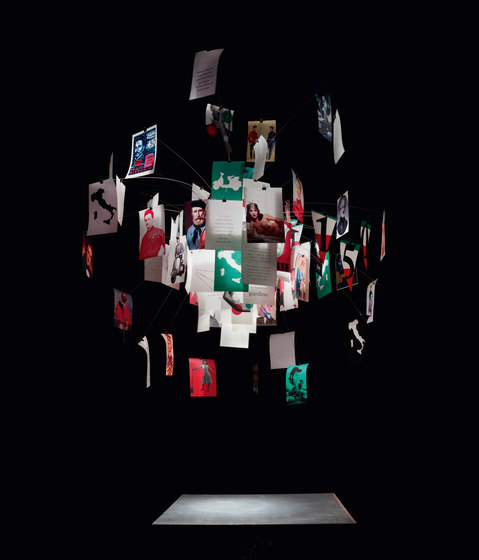 Zettel'z Viva Italia de Ingo Maurer | Iluminación general