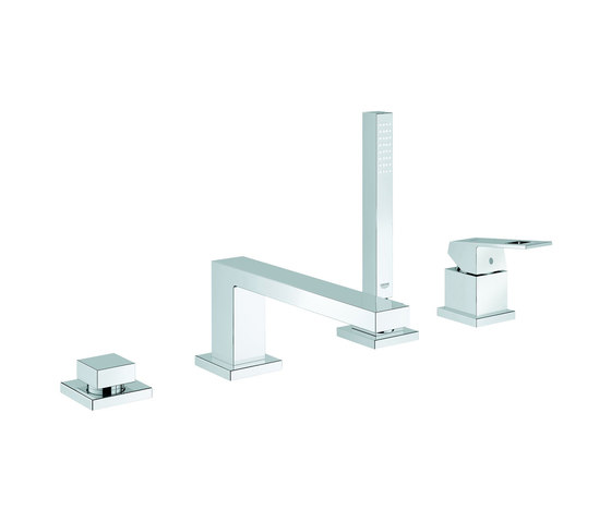 Eurocube Four-hole single-lever bath combination by GROHE | Bath taps