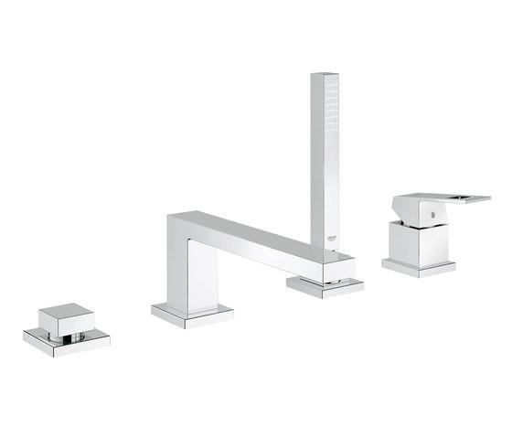 Eurocube Four-hole single-lever bath combination di GROHE | Rubinetteria per vasche da bagno