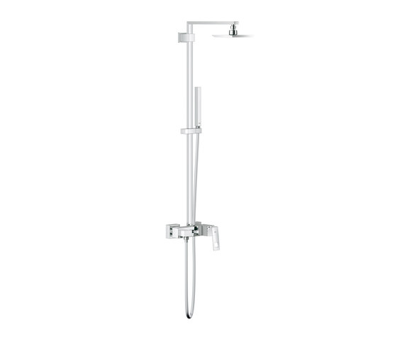 Eurocube Shower system for wall mounting de GROHE | Robinetterie de douche
