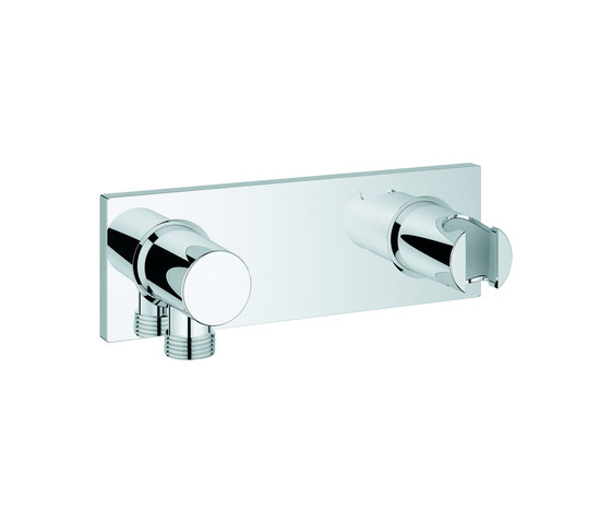 Grohtherm F Wall shower union with integrated shower holder by GROHE | Shower taps / mixers
