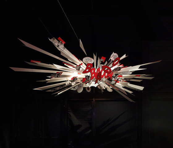 Comic Explosion by Ingo Maurer | General lighting