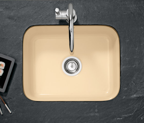 Cisterna 60 C Undercounter sinks by Villeroy & Boch | Kitchen sinks