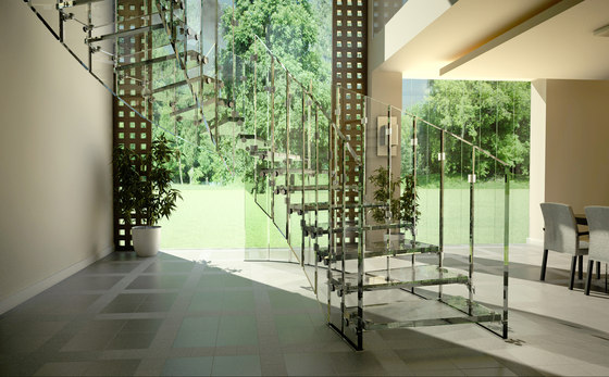 Fly by Siller Treppen   Glass stairs