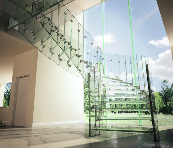 Fly by Siller Treppen | Glass stairs