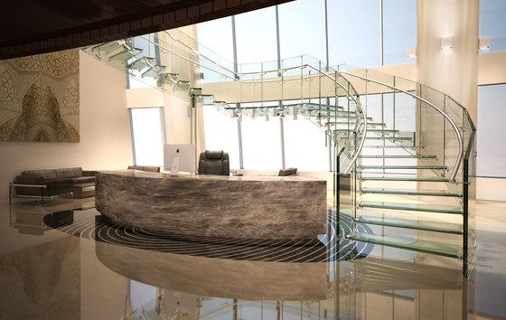 Fly von Siller Treppen | Glastreppen