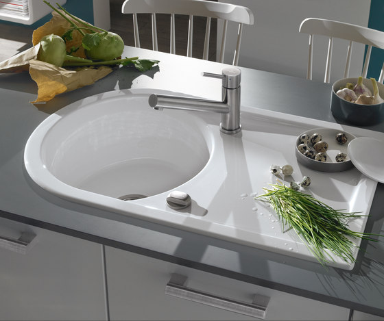 Lagor Pure 45 Built-in sinks by Villeroy & Boch | Kitchen sinks