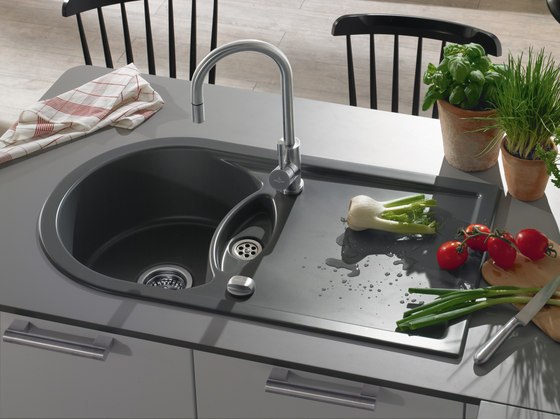 Lagor Pure 50 Built-in sinks by Villeroy & Boch | Kitchen sinks