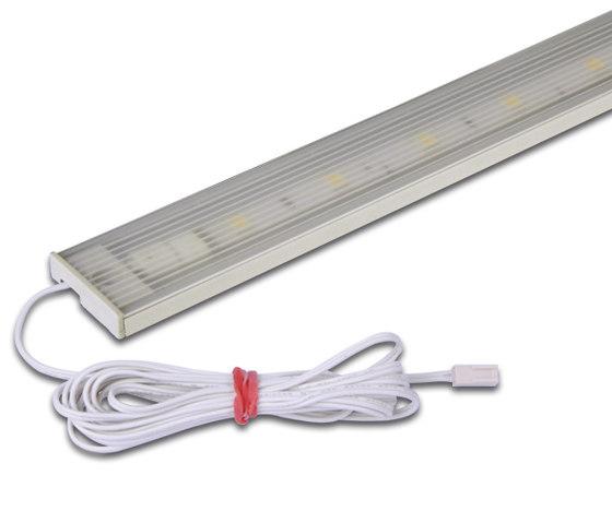 LED Flat-Line - Flat LED Under-Cabinet Luminaire by Hera | Surface-mounted lights