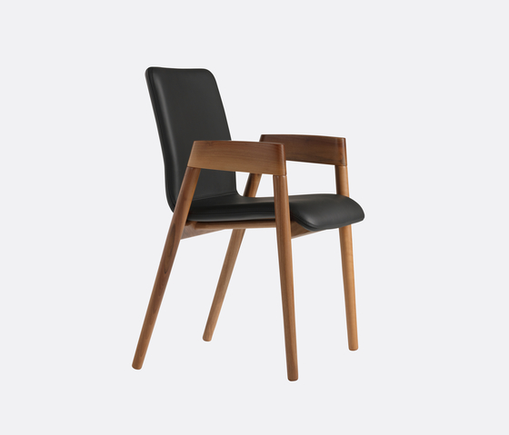 HOLZER chair by LÖFFLER | Visitors chairs / Side chairs
